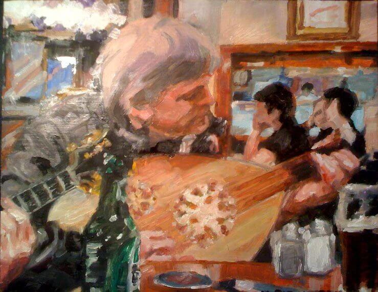 Portrait of the Artist As An Oudist