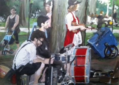 Theatre Musicians at Dufferin Grove