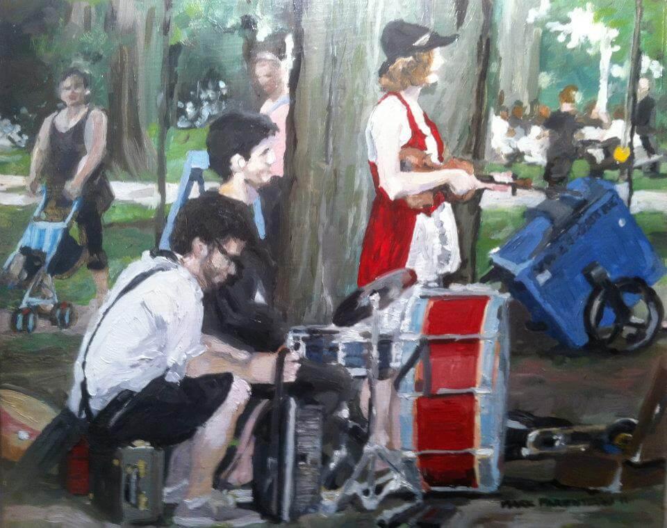 Theatre Musicians at Dufferin Grove
