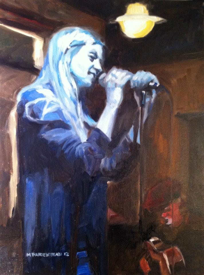 Blue Singer
