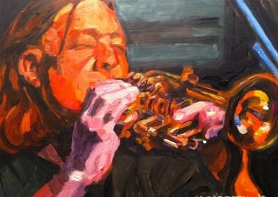 Steve on Trumpet