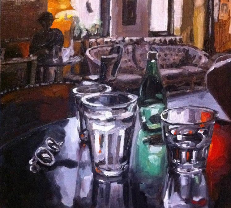 Reflecting Still Life at the Cameron House – $450