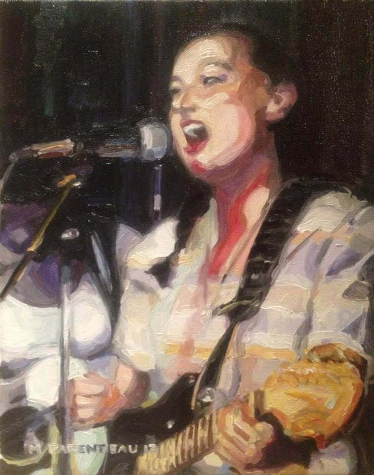 Lilly Mason Oil on Canvas 11 x 14