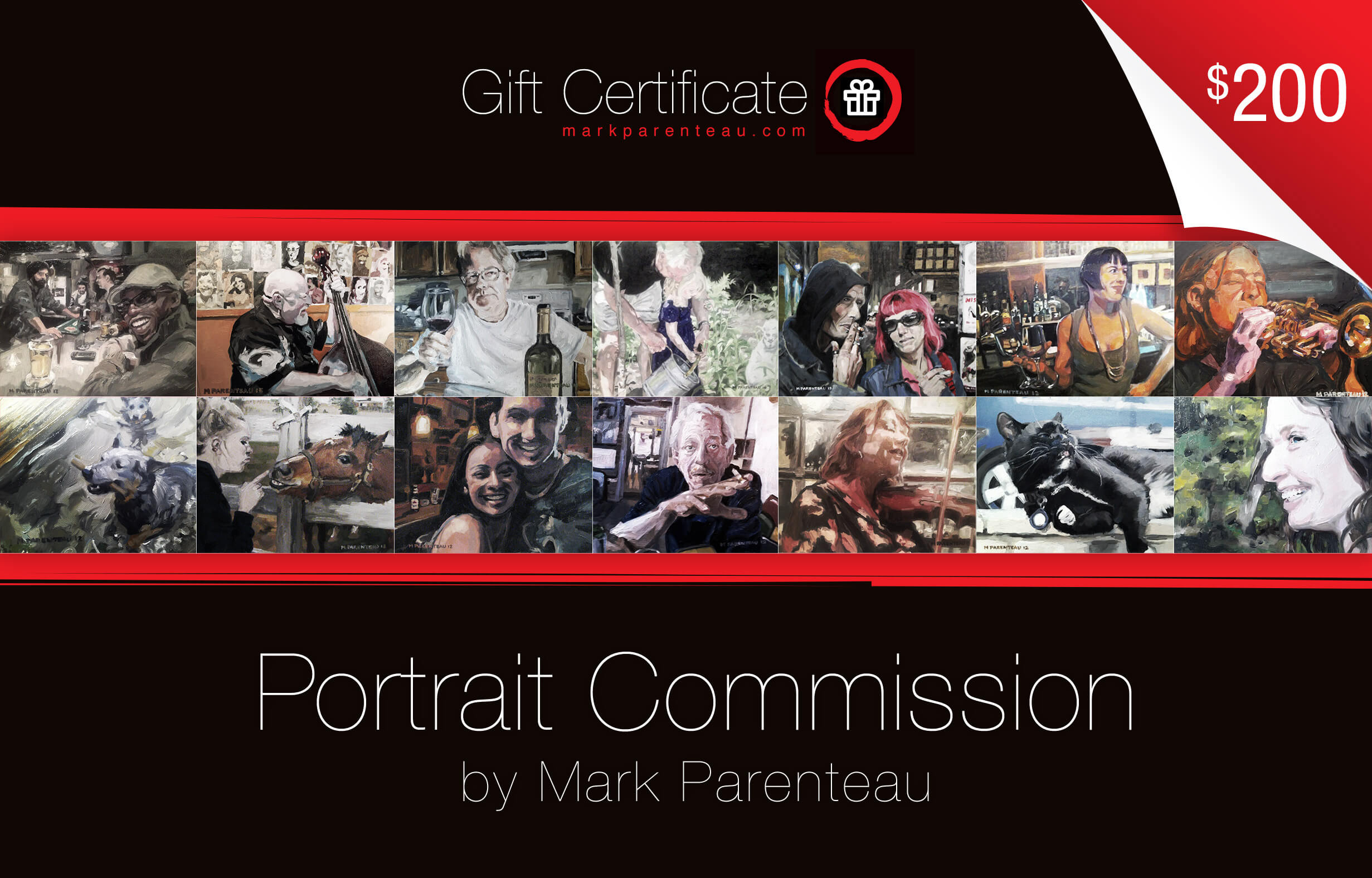 Portrait Commission Gift Certificates